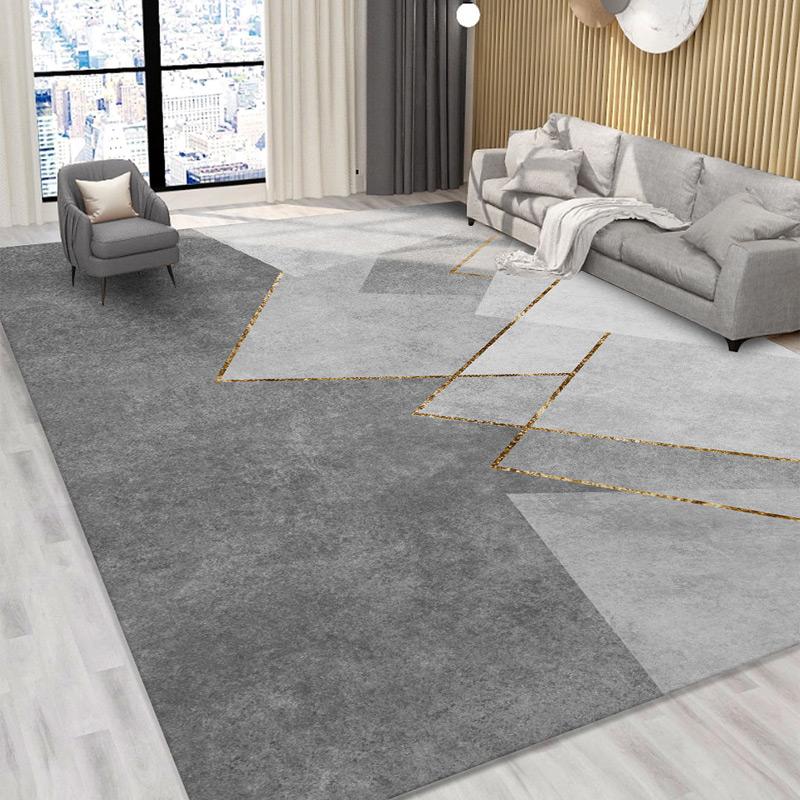 地毯客厅卧室少女床边毯茶几家用房间北欧简约轻奢毛绒地垫大面积