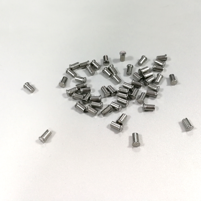 Solid screw rod welded with Φ 30 5 stainless steel