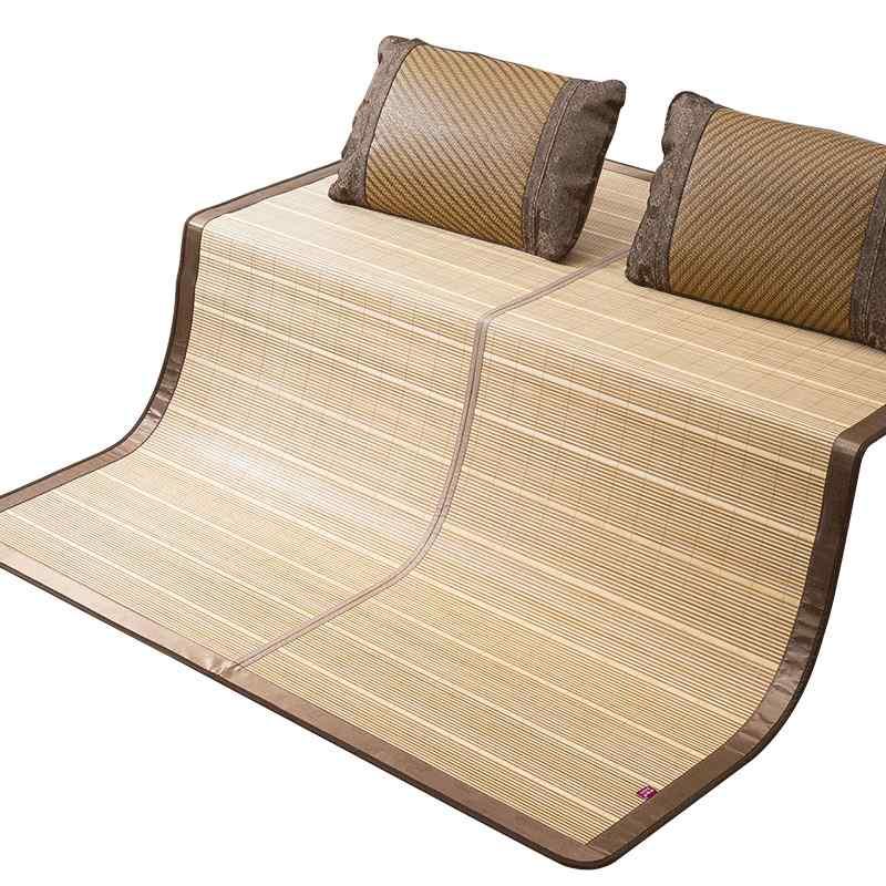 安吉竹席凉席1.5米1.8m床学生席双面可折叠草席子1.2米1.35米