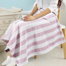 小毛毯子盖腿午睡毯空调毯办公室单人午休小被子加厚冬季珊瑚绒毯
