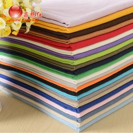 棉麻布料服装亚麻竹节麻纯色布头清仓处理沙发布面料绣花刺绣布料