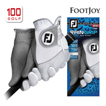 Footjoy Golf Gloves Mens Raingrip rainy season All-weather Golf Gloves Single 18 new