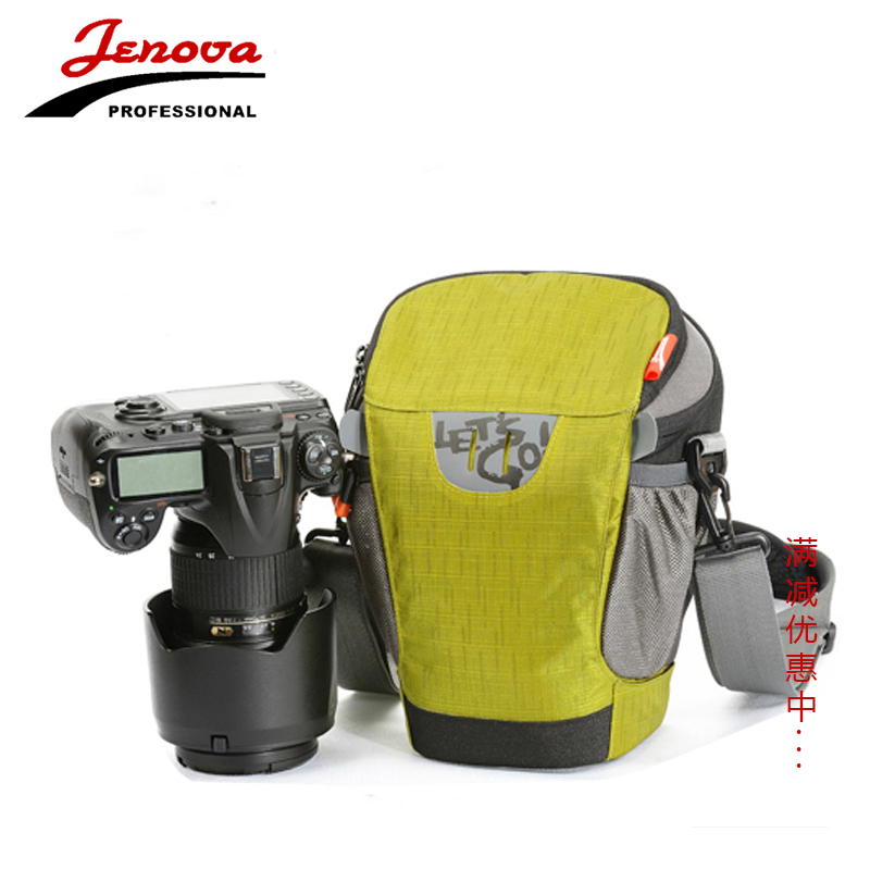 Guinever31107 Photo Bag Shoulder Bag SLR bag straddle portable bag digital camera bag triangle bag Gun Bag