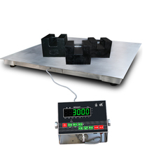 Stainless steel waterproof electronic ground scale 1-3 tons pound called electronic weighing 10 tons pound 5 tons of electronic pound said