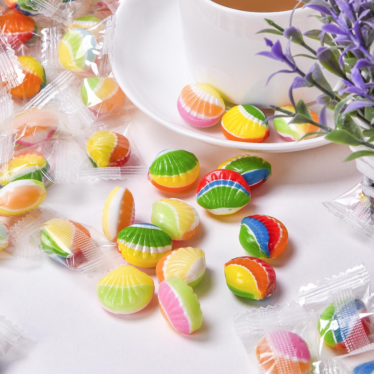 网红抖音高颜值创意七彩散装糖果