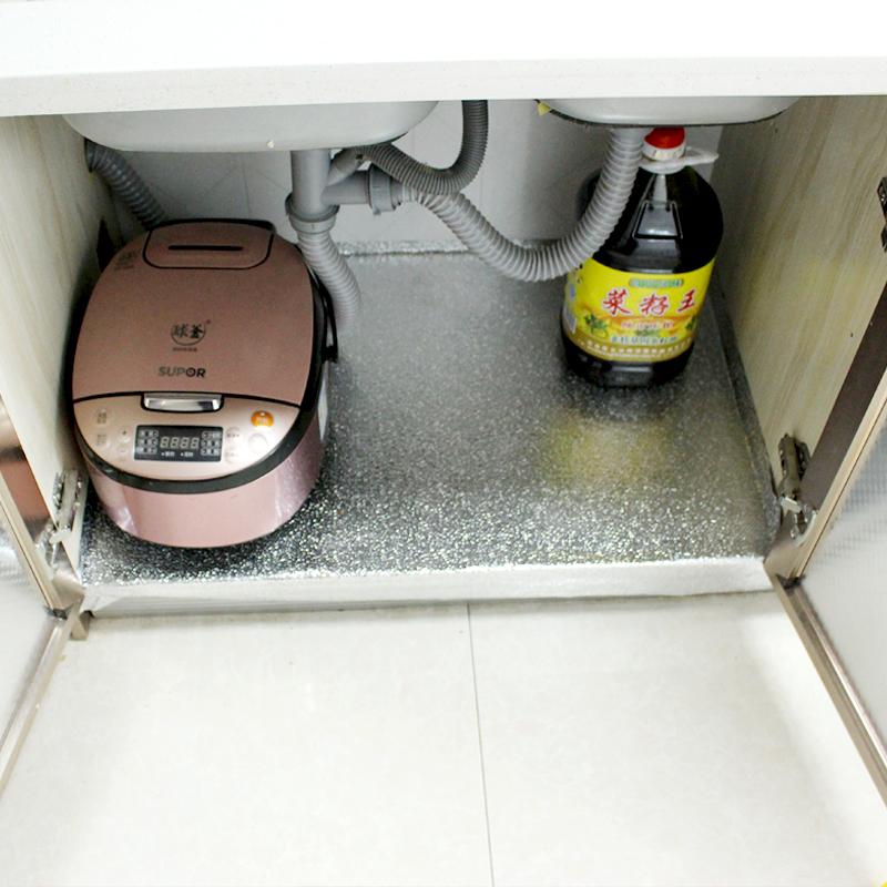 Шкаф фольга протектор наклейки водонепроницаемый самоклеящийся влага кухня масло наклейки выдвижной ящик подушка кухня тайвань паста олово бумага