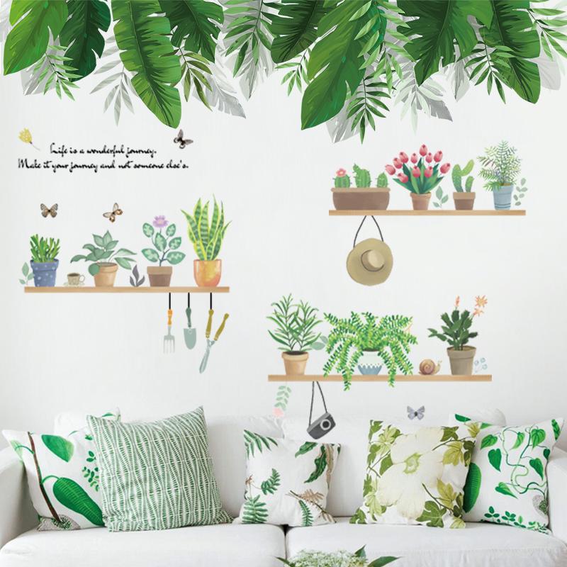 自粘床头贴纸装饰小图案温馨墙纸