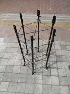 路燈景觀燈庭院燈監控杆指路牌監控立杆道路燈預埋件地籠3米3.5米