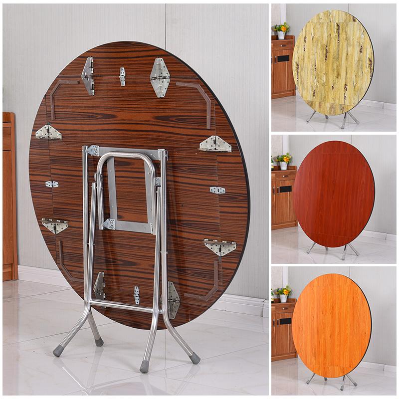 折叠桌子家用饭桌小户型吃饭桌子(非品牌)