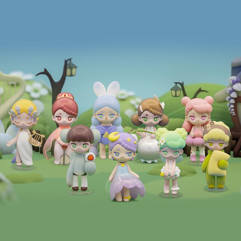 【壹拾叁】Mina精灵花园系列盲盒可爱少女心娃娃潮玩手办公仔手办