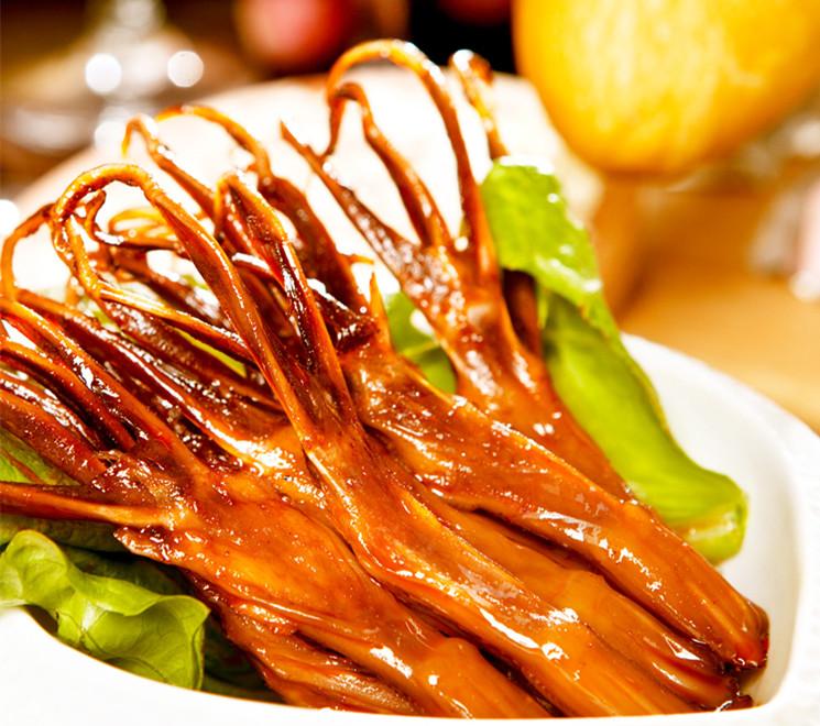 绿盛温州酱鸭舌头200g散装特色卤味休闲办公肉类零食小吃包邮