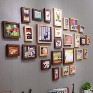 景宇 北欧简约装饰客厅照片墙 相框墙创意欧式相框挂墙组合相片墙