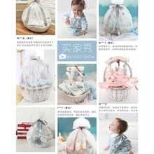 Gift box for newborn, clothes suit for newborn, high-grade spring and autumn baby products, gifts for the first full moon