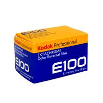 现货Kodak柯达 E100 135彩色反转片正片胶卷21年05月全新复产
