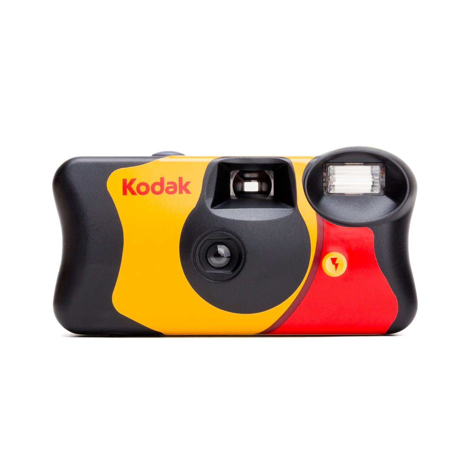 美国Kodak柯达一次性傻瓜胶卷相机FunSaver 27张彩色有闪灯 现货 Изображение 1