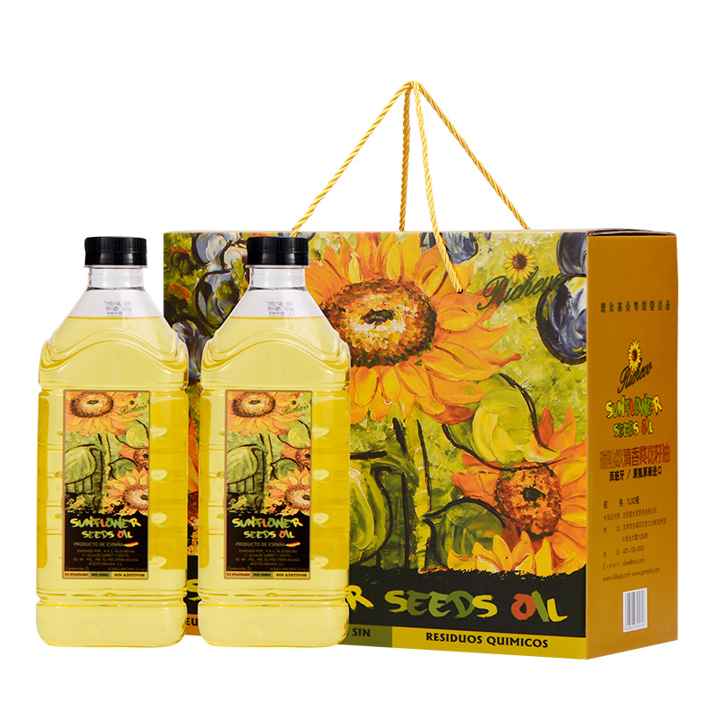 Italian sunflower seed oil 2L * 2, imported from Spain