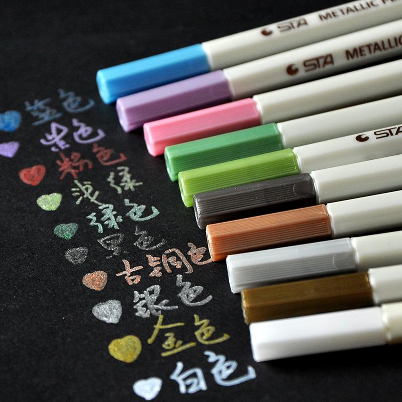 油漆笔 金属彩色笔 相册笔