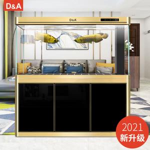 德国德克超白玻璃家用客厅底水族箱