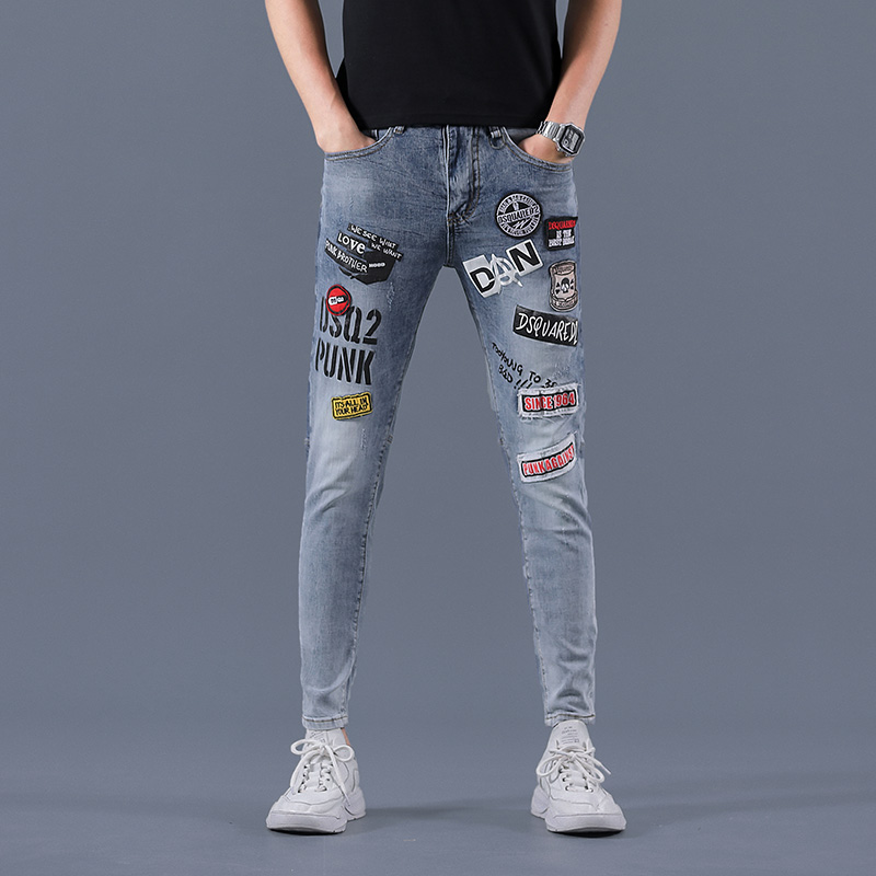 New youth jeans fashion trend in 2020 summer