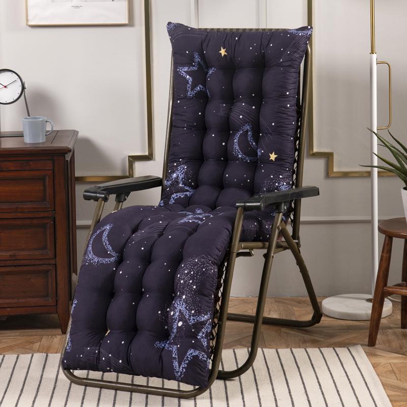 秋冬季加厚休闲折叠躺椅棉垫坐垫