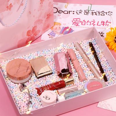 卡姿兰彩妆套装美妆套盒化妆品礼盒初学者全套组合新手化妆女正品