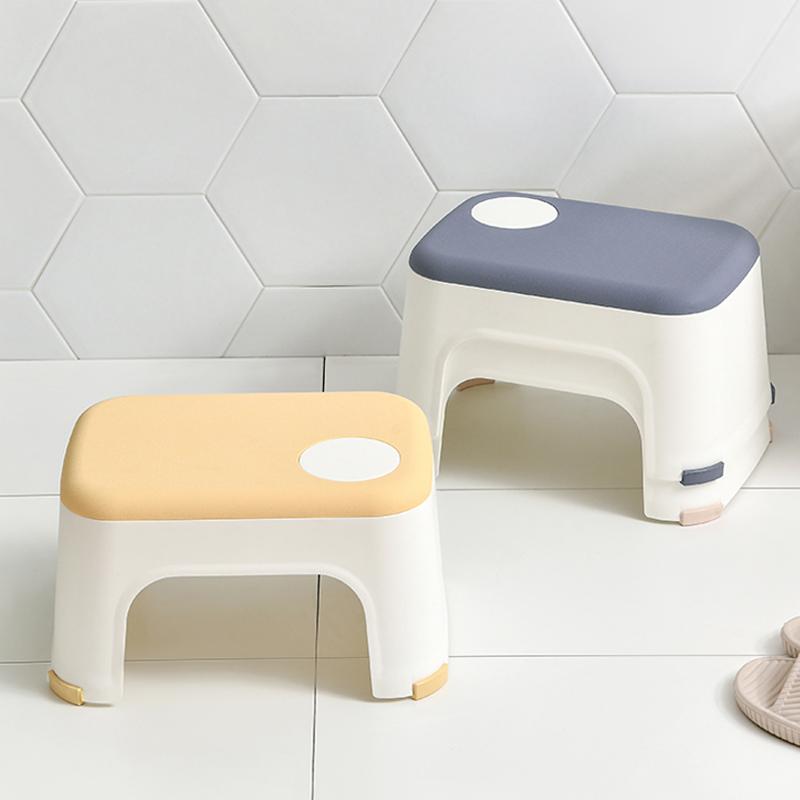 日本加厚塑料小矮凳子浴室防滑凳家用换鞋方凳儿童洗澡洗手小板凳