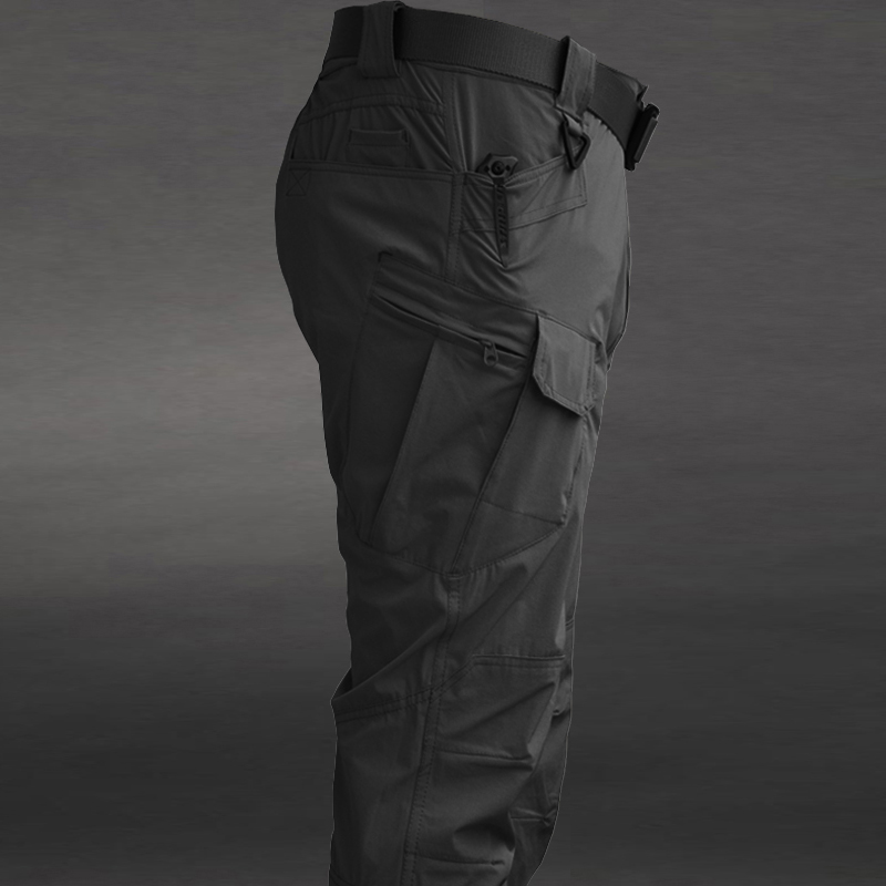 Spring and autumn winter overalls mens soft shell pants Plush Fleece Pants waterproof ix7 tactical pants loose camouflage pants