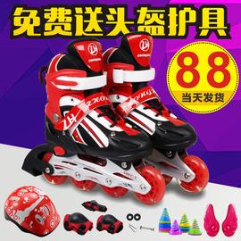 3-4-5-6-7-8-9-10-11-12岁儿童溜冰鞋小孩旱冰鞋男女滑冰鞋初学者