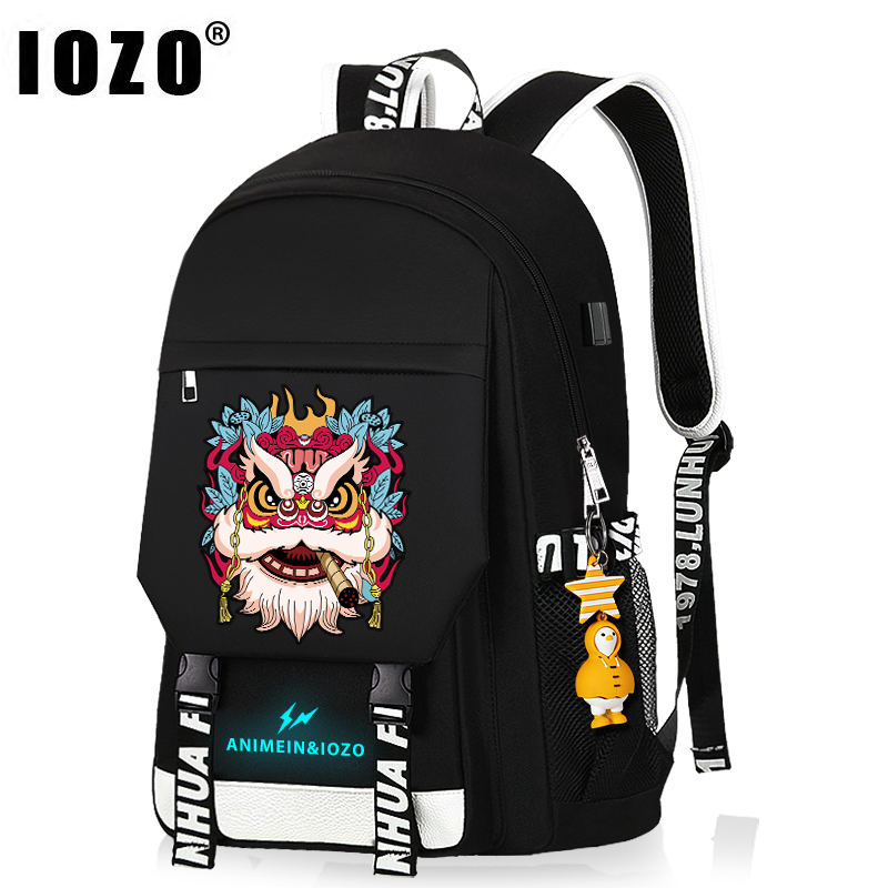 Children's schoolbags men's and women's backpacks fashion trend lightweight elementary school backpack boys junior high school students large capacity