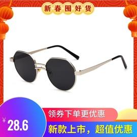 欧莱欧厂家炫目色彩金属大框太阳眼镜 男女士太阳镜 墨镜图片