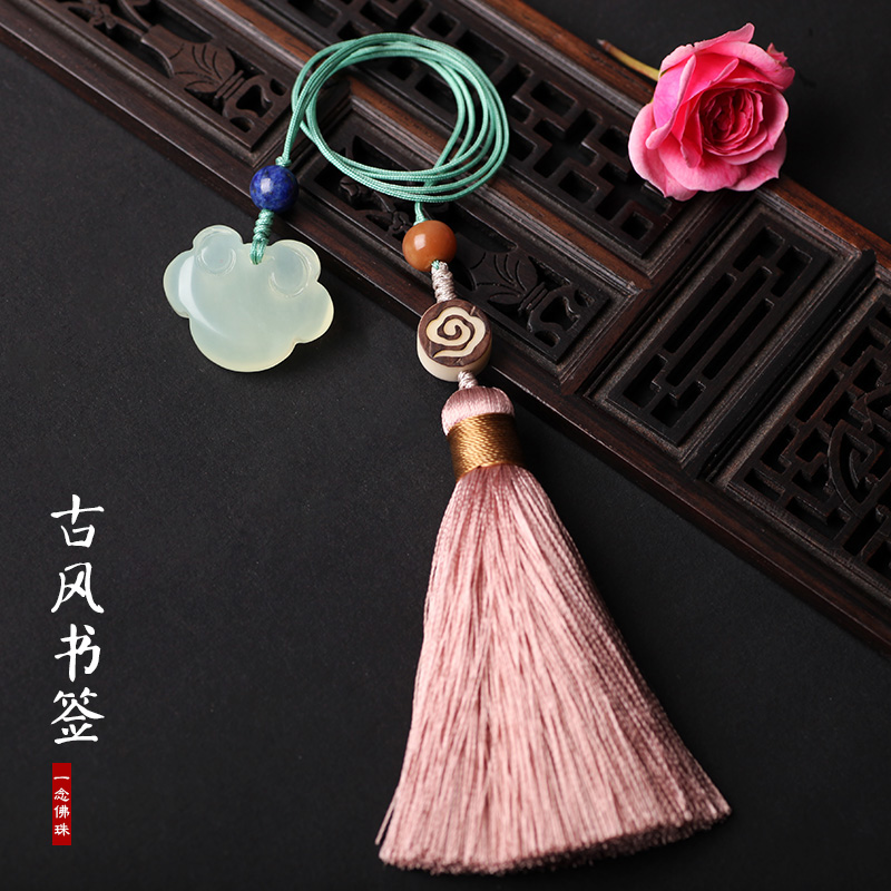 中国风流苏书签礼盒