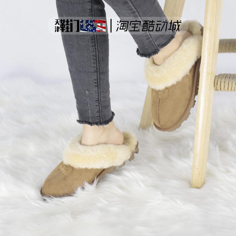 UGG 2019女鞋秋冬包头平底休闲舒适轻便柔软保暖居家拖鞋5125