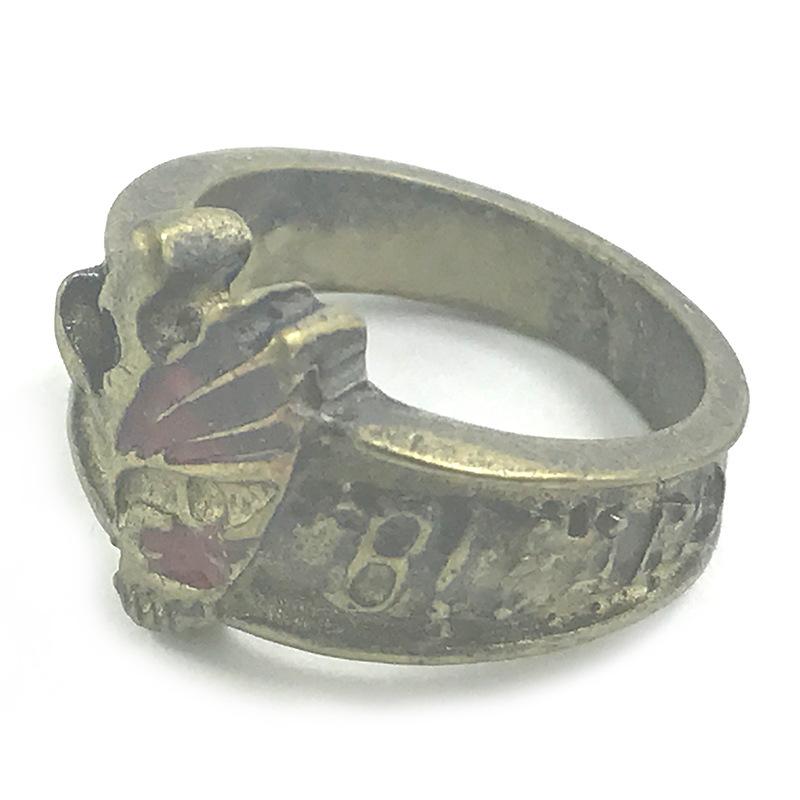 海贼白胡子路飞柯南吸血鬼骑士笔记黑执事死神写轮眼复古戒指