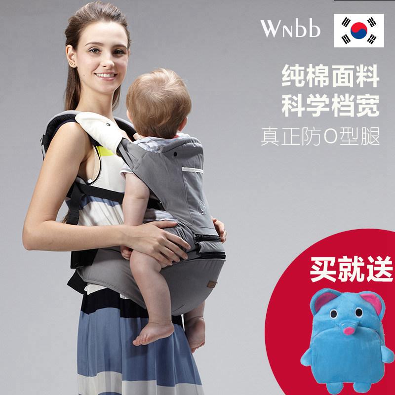 宝宝腰凳坐凳婴儿背带前后两用新生儿背小孩儿背带四季轻便单登