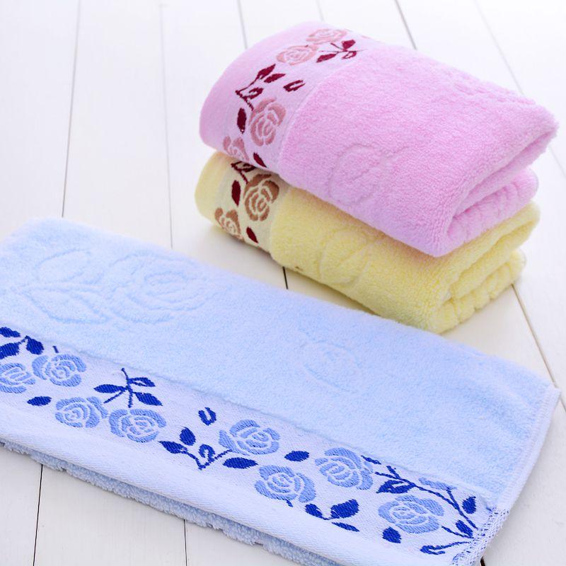 热销纯棉毛巾 10条装 男女情侣加大厚 家用洗脸面巾十条 柔软吸水