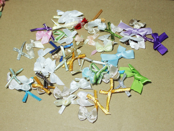 Full 18 yuan package mail mixed Mini bow 20 BJD accessories material baby clothes underwear fat hair accessories