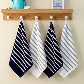 2条装儿童小毛巾纯棉吸水洗脸家用四方男士可爱少女中号方巾采购