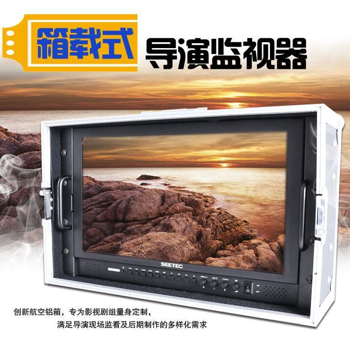 视瑞特17寸4K导演监视器fs7高清可选sdi箱载显示器P173 单反相机