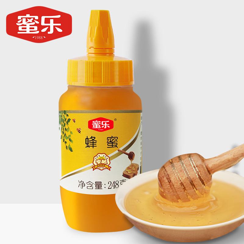 蜜乐便携小包装蜂蜜248g百花蜜天然纯正蜂蜜自然成熟蜜农家土蜂蜜