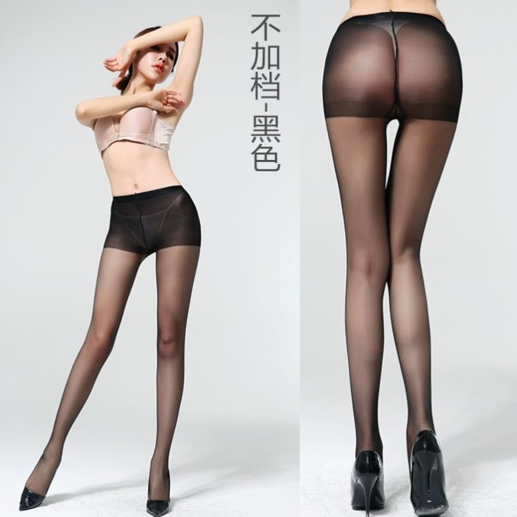 丝袜女薄款防勾丝春秋黑肉色光腿性感大码超薄隐形夏天菠萝连裤袜
