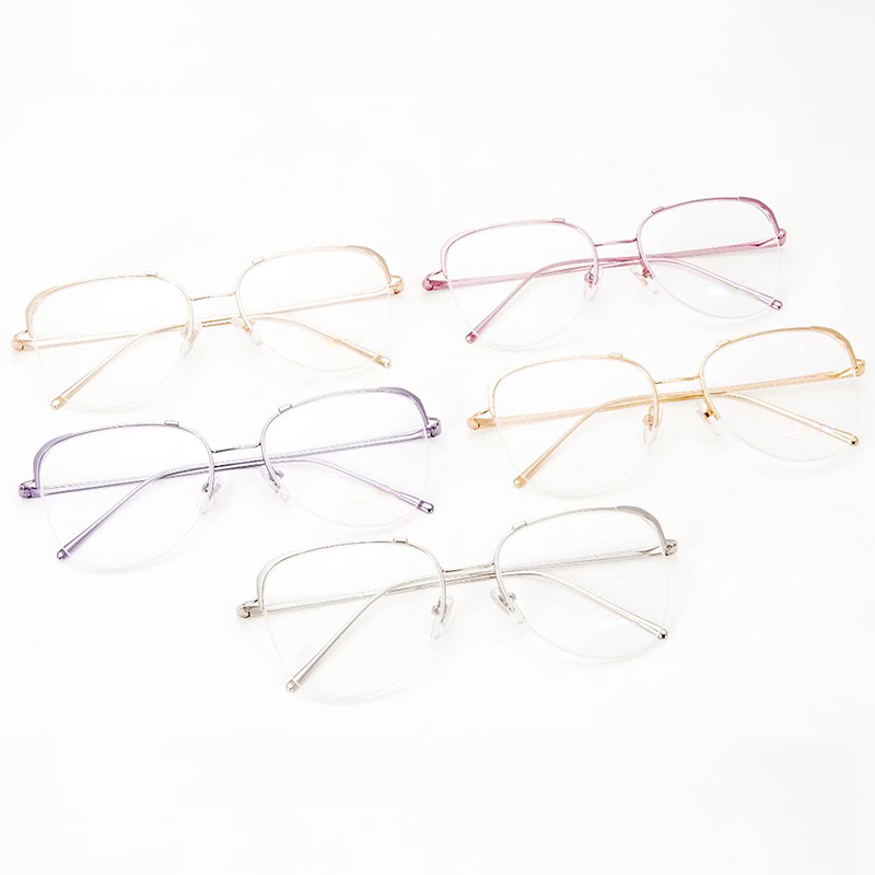 Fashion womens fashion glasses frame can be equipped with myopia goggles, anti blue light frame, flat light computer eye protection opr60uv