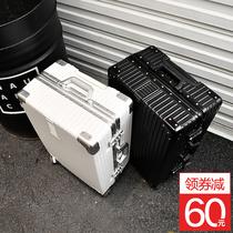 寸托账箱万向轮28拉杆箱行李箱旅行箱橘色登机箱PP出口很美真
