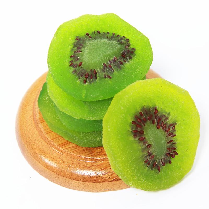 周至奇异果干猕猴桃干500g猕猴桃片水果干果脯蜜饯零食
