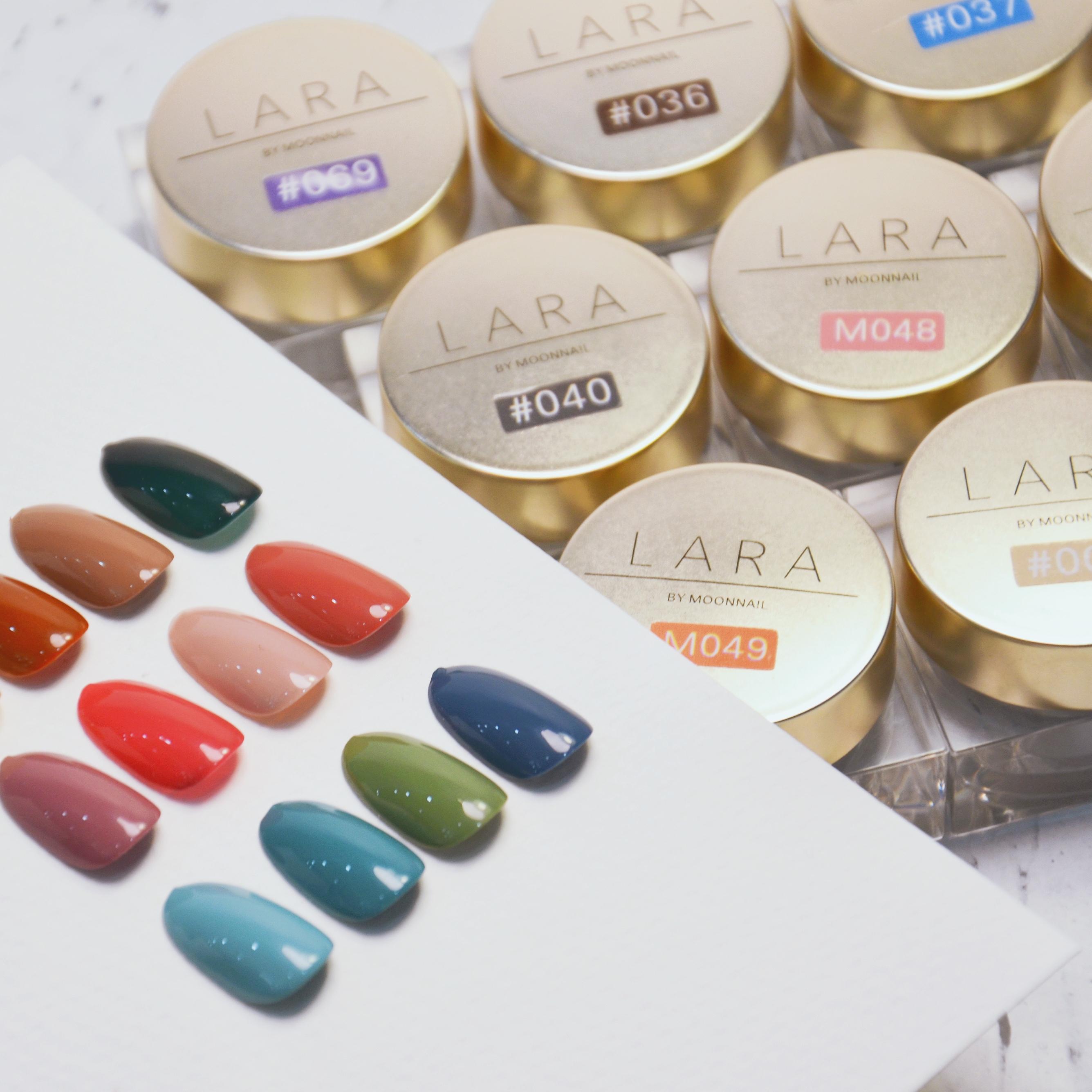 LARA日本罐装78色大套装指甲油胶晕染液沙龙美甲店专用光疗胶新款
