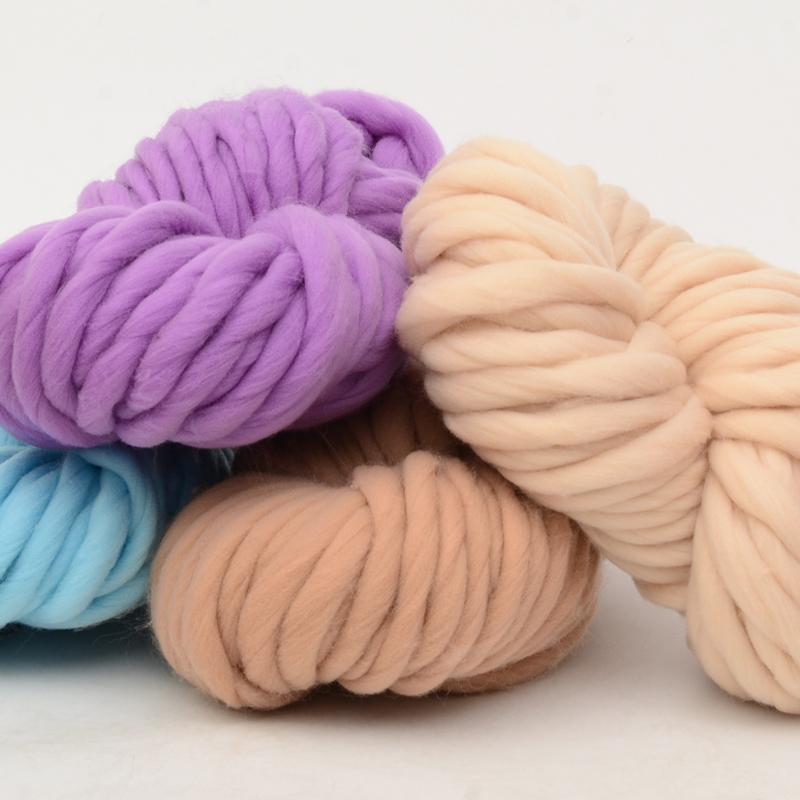 Super coarse Icelandic wool bar needle hand knitting scarf line wool blanket hat super wool wholesale special price