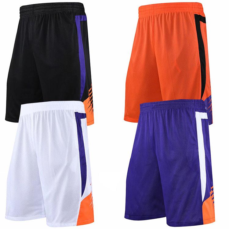 Suns basketball pants cloth basketball clothes sports pants streetball running casual pants match purple black pants