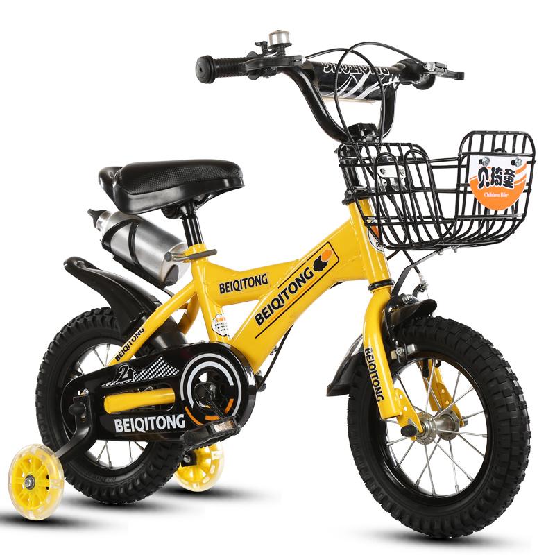 满99元可用5元优惠券童车女宝宝哈彼男孩包邮男女自行车