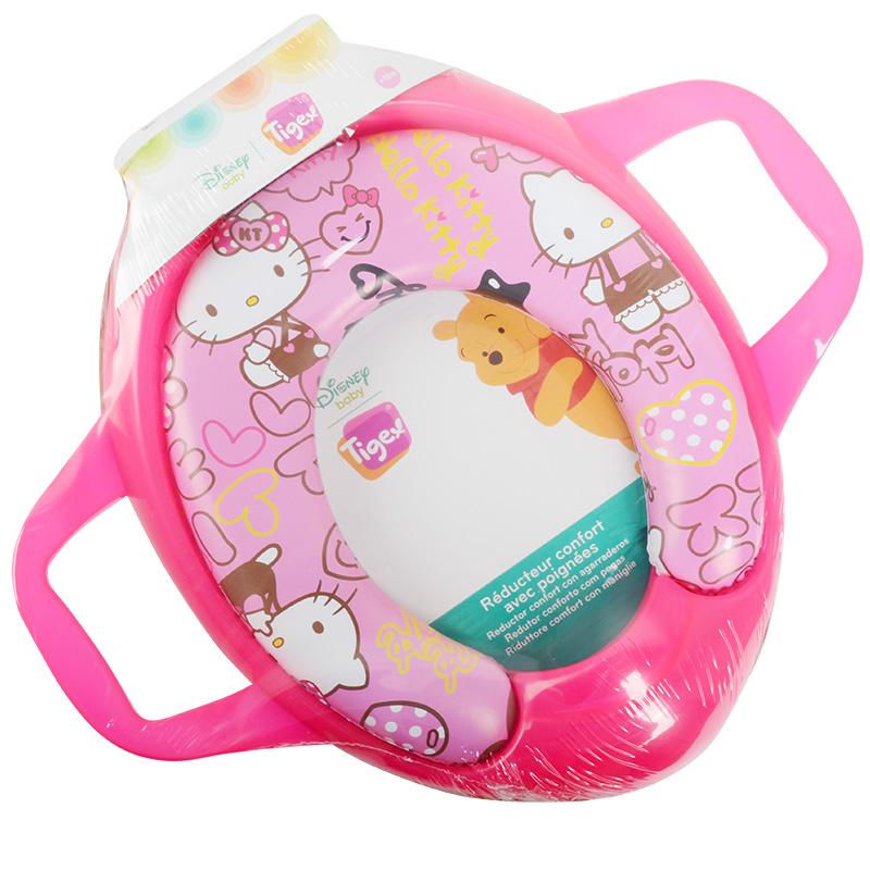 儿童座便器,马桶垫,软垫,马桶盖,儿童马桶圈--KITTY 猫系列