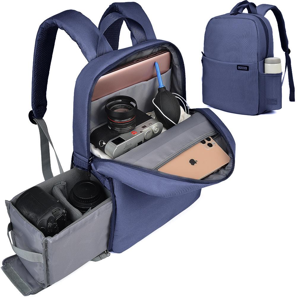 休閑單反相機包女便攜戶外攝影包雙肩佳能尼康微單平板旅行背包男
