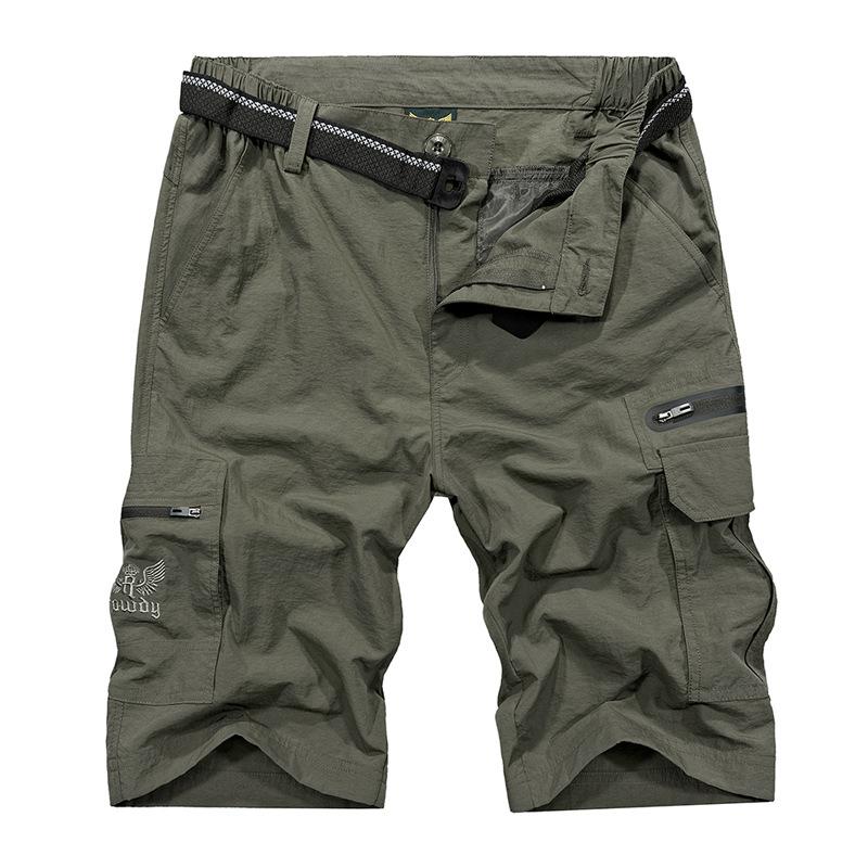 nian jeep吉普盾速干短裤男宽松多口袋五分裤户外休闲快干中裤